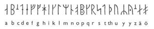 Рунический алфавит